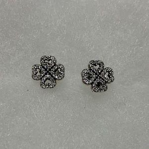 Pandora Petals of Love stud earrings